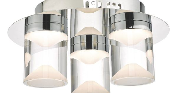 Height Cm 13 Diameter Cm 24 Bulb Led Lamp Holder Led Class 2 Double Insulated Ip Rating 44 Wat Bathroom Ceiling Light Flush Ceiling Lights Ceiling Lights
