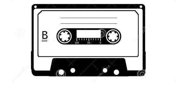 cassette tape silhouette - Google Search   Wedding invite ...