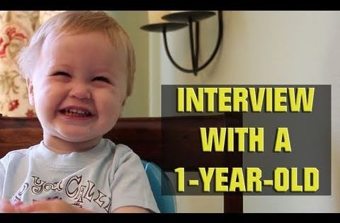 Funny stuff! Interview with a 1 year old