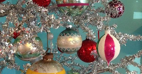 ,,,,50's,,,, || Vintage Christmas Ornaments