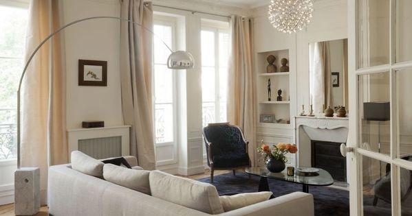 Un appartement haussmannien remis au go t du jour paris for Decoratrice interieure