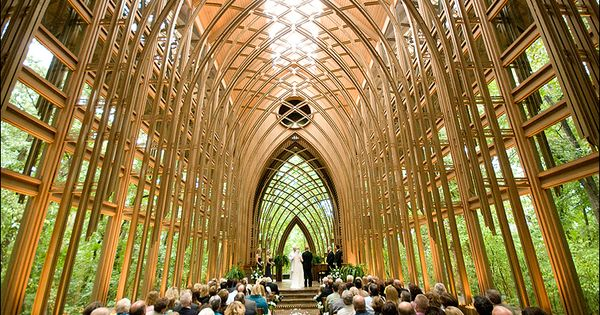 Glass Chapel in Arkansas. I would so love to get married here!