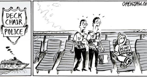 Cruise Funny Cartoon Canadian Travel Travel Agent Cruise
