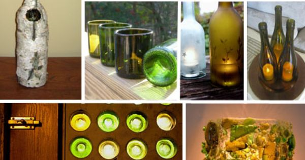 Cool things to do with old wine bottles wine diy for Cool things to do with a wine bottle