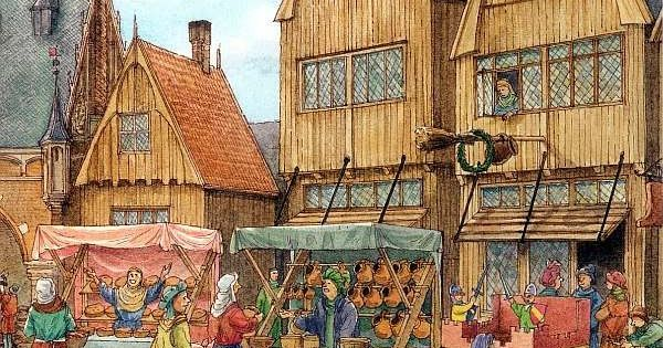 middeleeuwen gilden beroepen mieke rozing