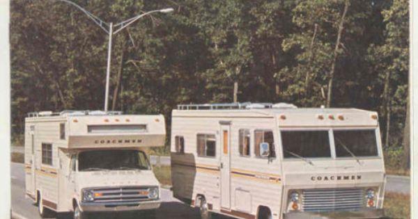 1975 Coachmen Motorhome Motorhome Interior Dodge Van