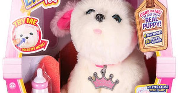 Little Live Pets My Dream Puppy Playset Tiara Little Live Pets Little Girl Toys Bookmarks Kids