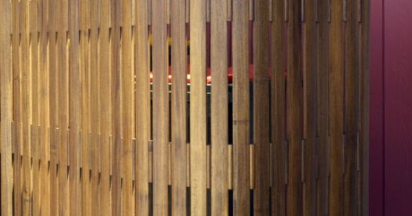 acacia timber slat screen