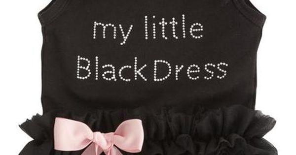 Little Black Dress Onesie...adorable! onesie cute baby romper clothing