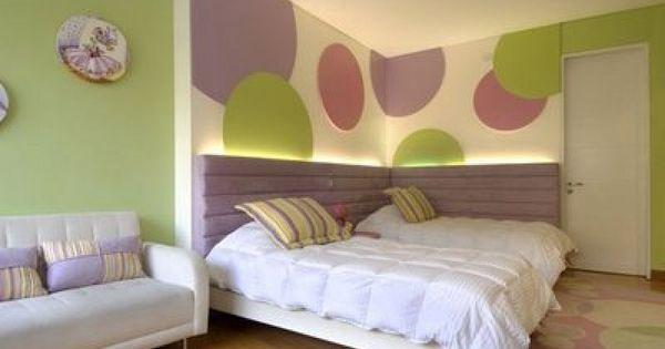 Dale vida a tu hogar con paredes pintadas con rayas - Ideas para pintar una habitacion ...