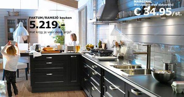 Ikea Keukens Inrichting Huis Com Ikea Keuken Keuken Idee Zwarte Keukenkastjes