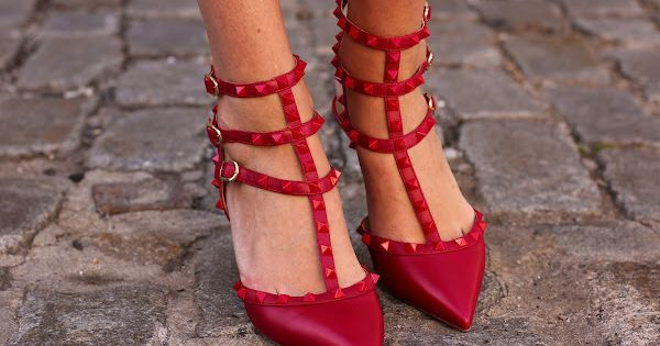 Beautiful red shoes from the always stylish Blair Eadie and her Atlantic