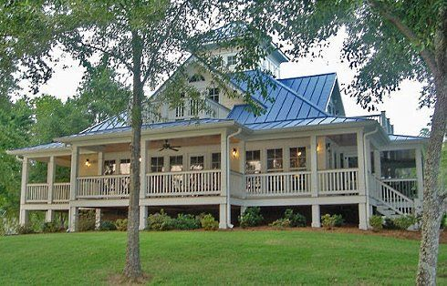 Lot S Of Porch Cottage House Plans Cottage Plan Beach House Plans