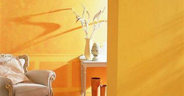 Photos D Inspiration Deco Peinture Salon Galeries De Photos Peinture Ocre