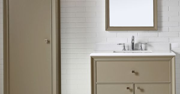 Coordinate your bathroom vanity and decor accessories to for Martha stewart small bathroom ideas