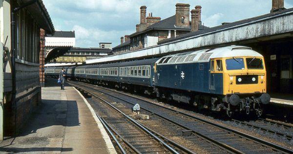 Br Class 47 47010 Ipswich With Images Ipswich British Rail