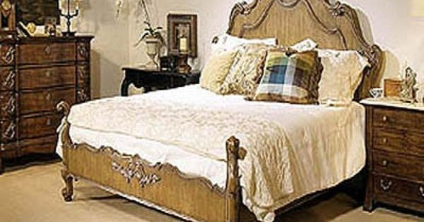 Coeur De France Bordeaux Collection Panel Bed At Doerr Furniture Store New Orleans Bedroom
