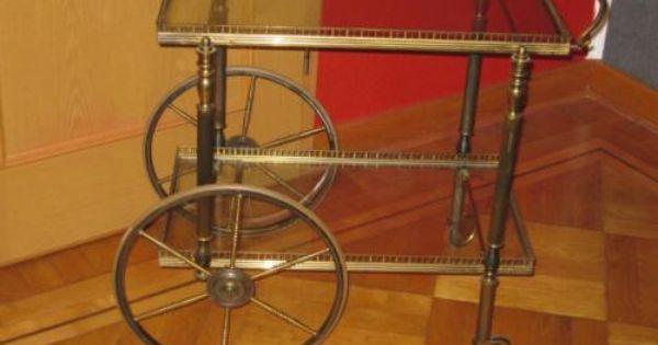 Servierwagen Messing Servierwagen Gebraucht Kaufen Messing