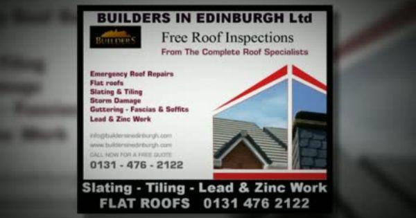Roofers In Edinburgh Part Of Builders In Edinburgh Edinburgh Roofing Services Covering Edinburgh And Central Scotland 25 Roofing Services Roofer Roof Repair