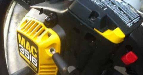 MCCULLOCH Dakota 442 Mac Cat Genuine Petrol Chainsaw Thin Fuel Line
