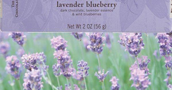 Organic chocolate, Chocolate bars and Lavender on Pinterest