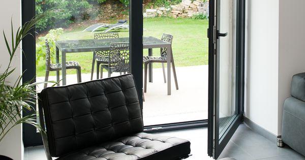 fen tre en aluminium gris noir r alisation de belisol besan on porte verri re fen tre. Black Bedroom Furniture Sets. Home Design Ideas