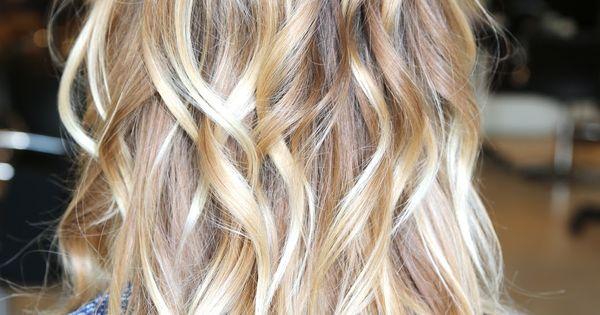 Light Blonde Ombr 233 Hair Beauty Pinterest Light