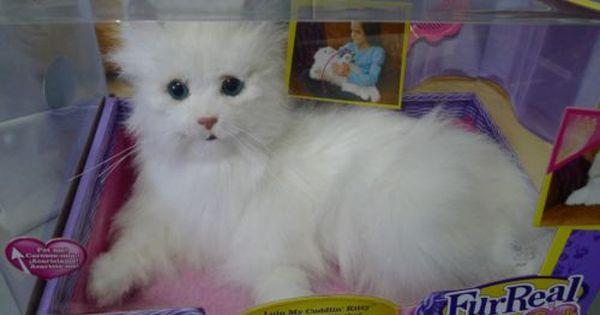 Details About Furreal Friends Lulu My Cuddlin Cat 2008 Kitten