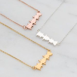 necklaces crystal necklace trendy stainless steel gifts for him gifts for her free delivery homemade uk based black and white