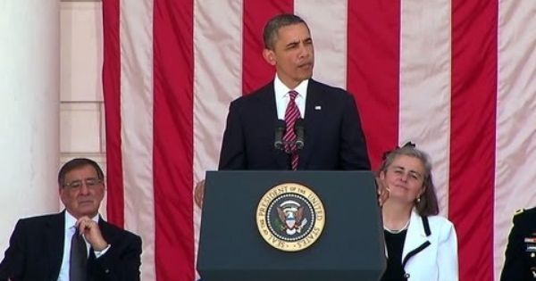president obama memorial day speech 2012