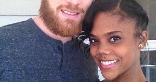 Black Girl White Boy Love Cute Interracial Couple  Love Like This -5064