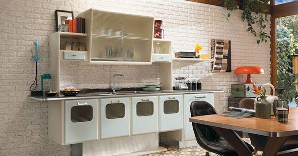 moderne küche retro stil vintage design | Cuisine | Pinterest ...