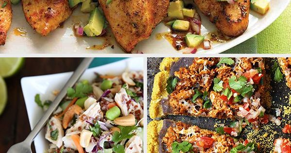 60 Healthy & Creative Chicken Breast Recipes healthy chicken recipes
