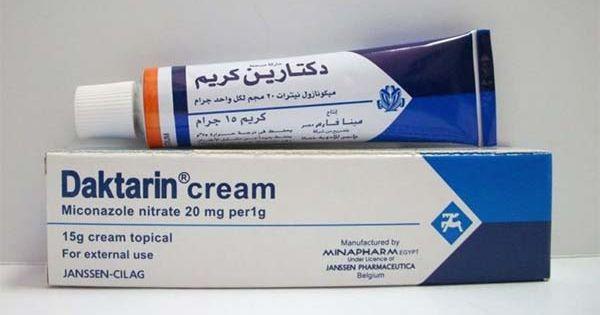 دكتارين كريم Daktarin Cream لعلاج الفطريات Cream Toothpaste Topical