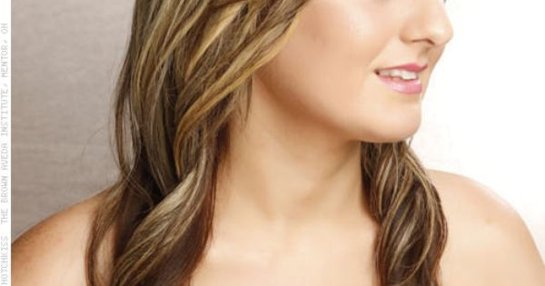 Partial Highlights On Light Brown Hair Dimensional Color