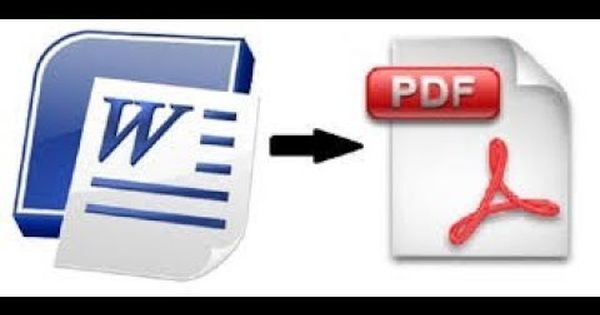 How To Convert Word To Pdf Pdf Programming Tutorial Online Tools