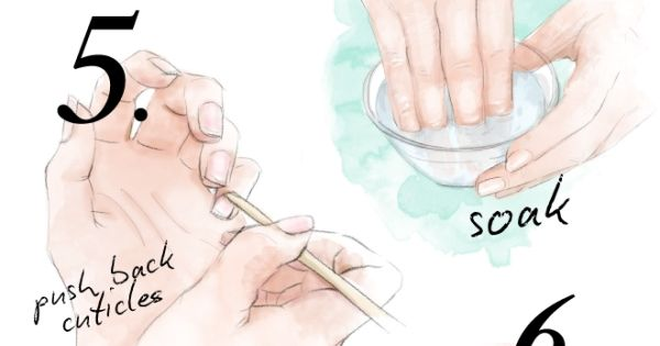Nails: Easy follow steps for the perfect manicure! At home manicure