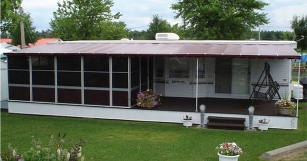 Trailer Deck Enclosure System Lodge Deck Screen Room