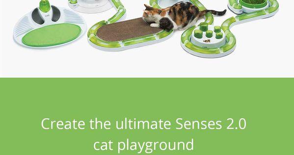 Senses 2 0 Play Circuit Catit Us Scratcher Senses Cat Playground
