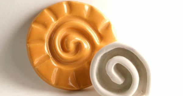 Sello de arcilla espiral cer mica patr n o textura for Herramientas ceramica artesanal