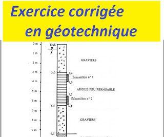 Exercice Corrigee En Geotechnique Et Mecanique Du Sol Nerdy Nurse Genies How To Plan