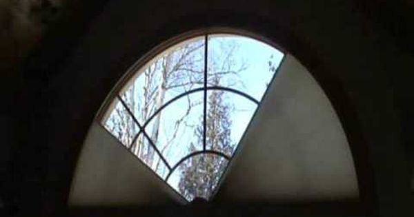 Arch Shaped Windows Are Some Of The Most Challenging To Do Anything With This Motorized Shade