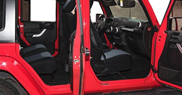 Pernice Jeep Wrangler Neoprene Seat Covers Custom Fit For 2013 2014 2015 2016 2017 Airbag Compatible 4 Neoprene Seat Covers Jeep Wrangler Baby Car Seats