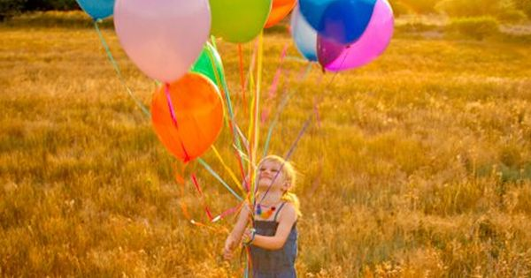 #balloons Photography birthday A Photography Rainbow such a cute picture idea love