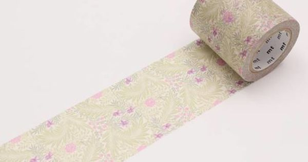 Mt X Artist Series Mt Tape Singapore William Morris Mt Tape Washi Tape
