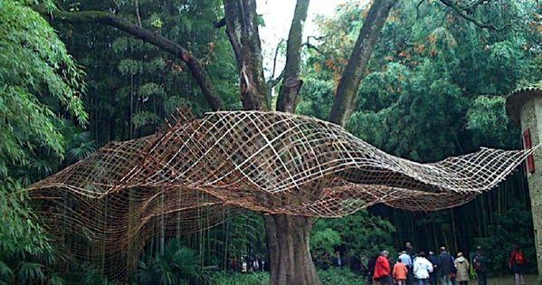 la bambouseraie entrance
