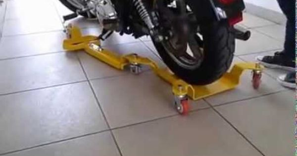 Track Moto Motorcycle Acessories Easily Slide Your Motorcycle For Storage Bike Stand Motorcycle Equipment Custom Bikes