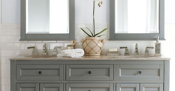Gallery For Photographers Gorgeous in grey Double the fun this bath vanity is a master bath must HomeDecorators Bath Pinterest Bath vanities Vanities and Bath