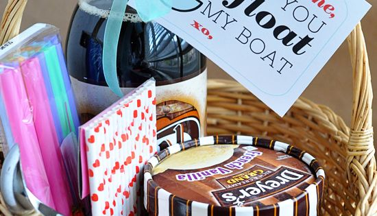 Valentines Gift Idea: Root Beer Float Kit + Printable- That's a pretty