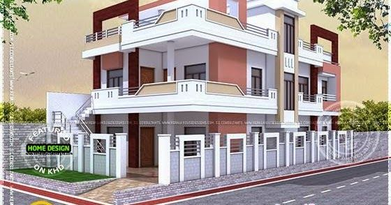 Floor Plan Of North Indian House Indian House Plans House Outside Design Indian House Exterior Design House design north indian style